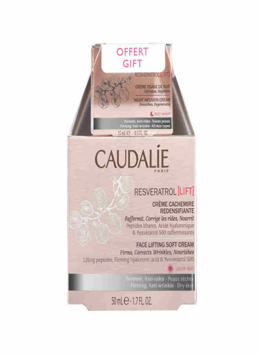Caudalie Caudalie Resveratrol Lift Duo Soft Cream Set Renksiz